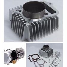 Big bore 54mm cylinder kit piston ring gasket change 110cc to 125cc Dirt Pit ATV