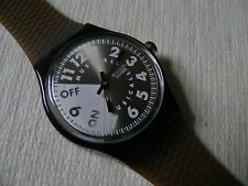 1995 Swatch watch Muscial Cantautore  Melody by Philip Glass SLM106 New