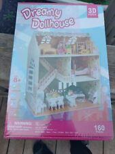Dreamy Dollhouse 3D Puzzle. Still in original shrink wrap.