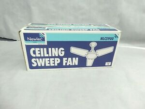 Newlen NLCS 900 Ceiling Sweep Fan 3 x Blades Used In Original Packaging Untested