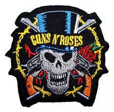 Guns n Roses Rock band Symbol t Shirts MG16 iron on Patches, New, Free Shipping