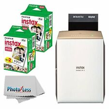 Fujifilm instax SHARE Smartphone Printer SP-2 (Gold) + More Complete Filming Kit