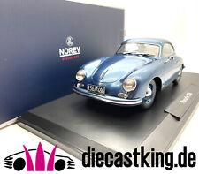 Porsche 356 Coupe 1952 blau metallic 1:18 Norev 187450