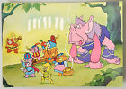 (PRL) 1985 WALT DISNEY GUMMI BEARS CARTOLINA POSTCARD CARD COLLECTION COLLEZIONE