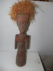 "Arts of Africa - Songye Figure - DRC  - Congo - 26"" Height x 7"" Wide"