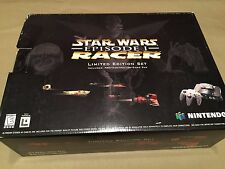 Factory Sealed Nintendo 64 Star Wars Episode I Racer Game Console (NTSC) NEW
