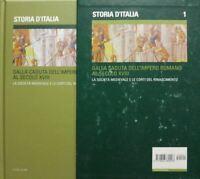 STORIA D'ITALIA VOL.1 LA SOCIETA' MEDIOEVALE E LE CORTI DEL RINASCIMENTO ILSOLE