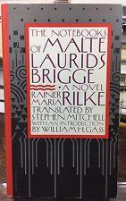 RAINER MARIA RILKE Notebooks Of Malte Laurids Brigge Stephen Mitchell  Wm. Gass