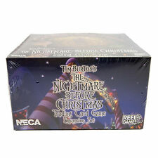 Nightmare Before Christmas TOWN expan. Trading Card Game BOOSTER BOX NECA Disney