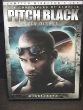 Pitch Black (Dvd, 2004, Unrated, Directors Cut, Widescreen Edition) Very Good!