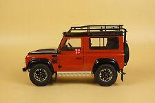 1:18 Kyosho LAND ROVER Defender 90 Adventure NO.08901P orange-red color model