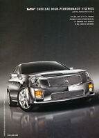 2006 Cadillac CTS-V - Series - Classic Vintage Advertisement Ad D64