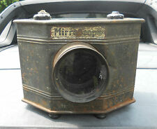 ANTIQUE 1912 MAGIC LANTERN MIRROSCOPE COMPLETE WITH BULBS