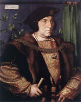 Art Oil painting Holbein Hans - Male Portrait of Sir Henry Guildford & black hat