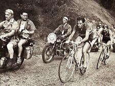 FAUSTO COPPI & JEAN ROBIC TOUR DE FRANCE 1952 POSTER