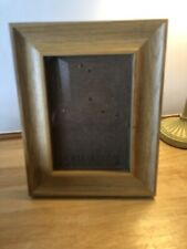 Solid Oak Frame Photo Picture 5 x 7 Easel Stand