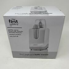 The First Years 2-in-1 Simple Serve Bottle Warmer, Sanitize Pacifiers New