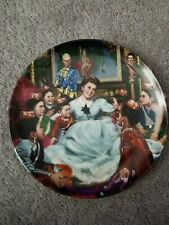 King and I Edwin M. Knowles Plate 1985 F7039H Getting to Know You Vintage Yul