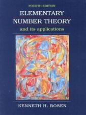 Elementary Number Theory and Its Applications (4th Edition) by Rosen, Kenneth H