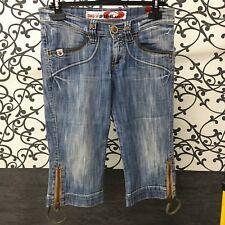 Jeans Corti Donna Originali Take Two Mod. Oxide Tg 28 - Pantaloni