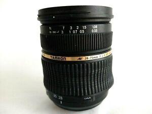 Tamron Lens AF 28-75mm F/2.8 IF Macro 67 A09 Aspherical LD XR Di SP for Nikon