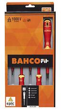 Bahco Ajuste 5 Pce Phillips Ph & Ranura VDE 1000v