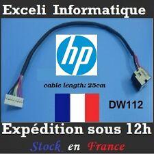Connecteur alimentation dc power jack socket cable wire dw112 HP HDX18 DV8