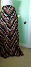 🤎❤vintage Biba Maxi skirt Size 18 Made 1969 Gorgeous Vhtf collector's Item ❤🤎