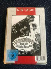 Godzilla und die Urweltraupen  DVD Metallpack OVP und NEU