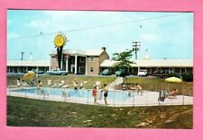 1950s VTG Automobile Postcard US Route 40 Towne Motel Hagerstown MD