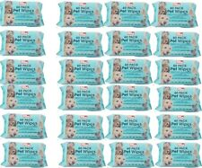 More details for pet cleaning wet wipes hygiene dog puppy cat rabbit ear paws walk outdoor