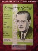 Saturday Review August 18 1956 HERBERT WENDT CEDRIC LARSON J. B. Priestley