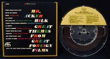 """MR. ACKER BILK: Great Themes From Foreign Films-Reel To Reel Tape-7 1/2"""" IPS"""