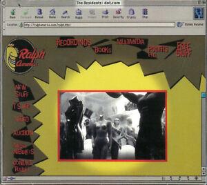THE RESIDENTS Dot Com RARE LTD EDITION 2000 US CD original sleeve RA 09 no obi