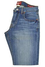 Lucky Brand Mens Vintage Blue Wash 221 Original Boot Leg Jeans 28W x 32L 5010-4