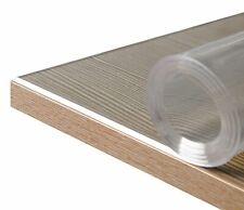 Glasklar Folie 2 mm + abgeschrägte Kante, transparente Tischdecke Tischschutz