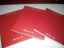 """ALFA ROMEO LIBRI BOOK"""" ARCHIVIO STORICO 1,2,3 """" PARI AL NUOVO """"RARISSIMI """""""