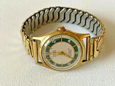 Alte *Rika* Armbanduhr, Handaufzug, RoWi Zugarmband Elastofixo.