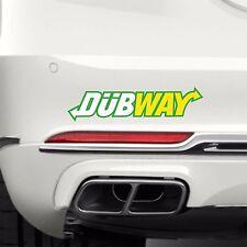 DUBWAY JDM 0002 STICKER DECAL EURO DUB JDM
