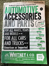 1969 JC Whitney Automotive Accessories & Parts Catalog American & Import Cars