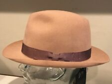 $325 Bailey Of Hollywood Edsel Men's Fur Felt Beaver Rabbit Hat Fedora Small
