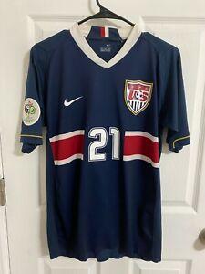 2006 World Cup USA SOCCER Czech Republic Match worn Donovan Player Issue jersey