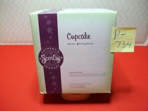 """BRAND NEW COLLECTIBLE AUTHENTIC SCENTSY WICKLESS WAX WARMER """"CUPCAKE"""" RETIRED?"""