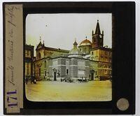 Italia Roma Santa Maria Popolo Foto Placca Da Proiezione Lanterna Magica