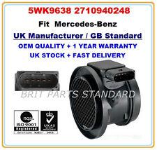 Masa de aire medidor de flujo Sensor WK 5 9638 2710940248 Mercedes C-class OEM calidad