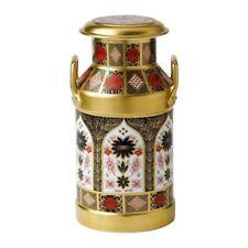 Royal Crown Derby 1st Quality Old Imari Solid Gold Band Milk Churn