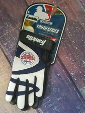 NWT Franklin Youth Series Minnesota Twins BB Batting Gloves Navy/White one size