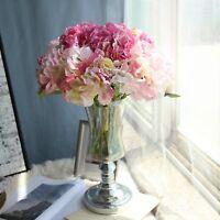 3PCs Fashion Artificial Hydrangea Silk Flower Bouquet Party Floral Room Decor