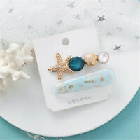 Bohemia Women Sea Star Shell Hair Clip Fashion Grips Barrette Hair Accessories