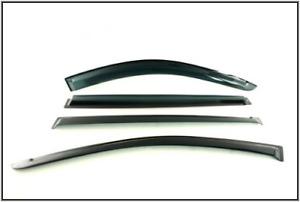 MITSUBISHI L200 - 2006-2014 WIND DEFLECTORS SET OF 4 TERRAFIRMA BRAND TF6076